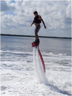 fly-boarding